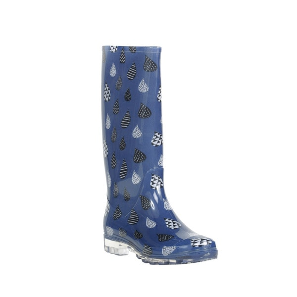 Tom's Women's Cabrilla Moonlight Blue Rain Boot