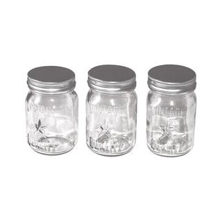 IdeaOlogy Mini Mason Jars 3/Pkg4inX2.25in