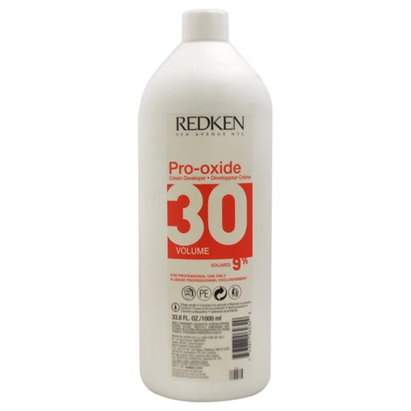Redken Pro-Oxide 30 Volume 9% 33.8-ounce Cream Developer