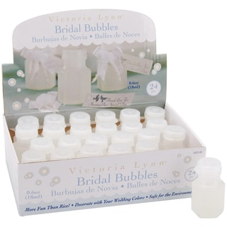 Bridal Bubbles .5oz Bottles 24/Pkg