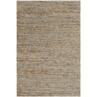 Hand-Knotted Joselyn Solid Indoor Jute Rug (8' x 10')