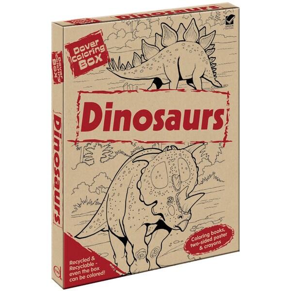 Dover Coloring Box KitDinosaurs