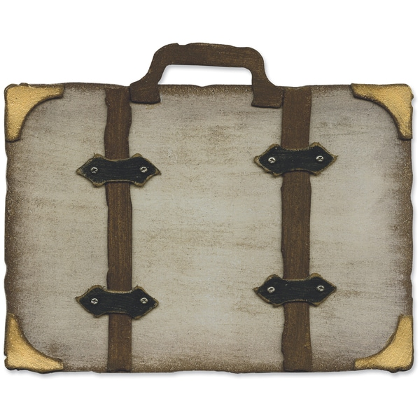 Sizzix Movers & Shapers Base Die By Tim Holtz 5.5inX6inVintage Valise
