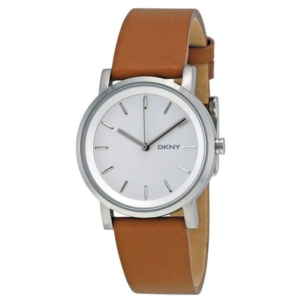 DKNY Women's NY2339 'Soho' Brown Leather Watch
