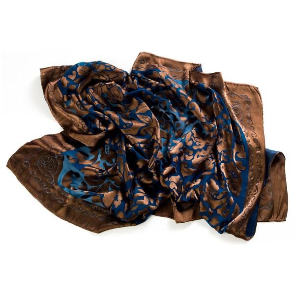 Trovati Women's Bronze Petal Scarf