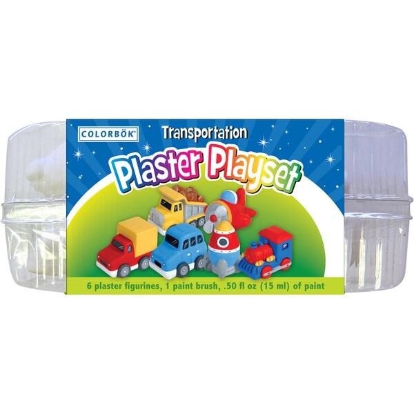 Plaster PlaysetTransportation