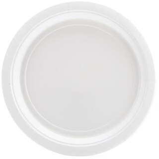 Big Party Pack Luncheon Plates 7in 50/PkgWhite