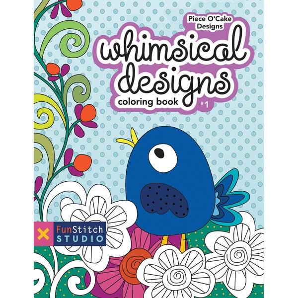 FunStitch StudioWhimsical Designs Coloring Book