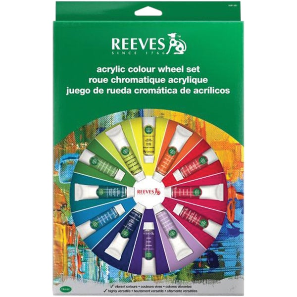 Reeves Colour Wheel SetAcrylic