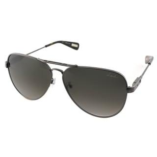 Lanvin Unisex SLN 038 05A1 Gunmetal Avitor Sunglasses