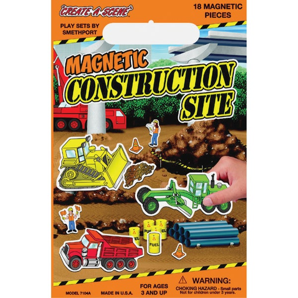 Magnetic CreateAScene KitConstruction Site