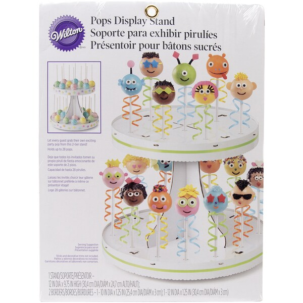 Pops Display Stand12inX9.5in Holds 28