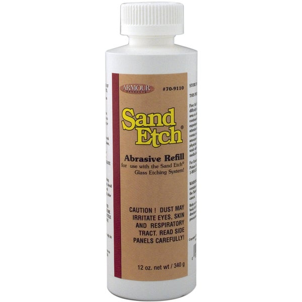 Sand Etch Grit Refill12oz