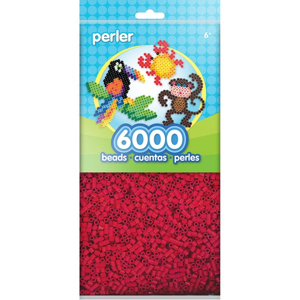 Perler Beads 6000/PkgRed