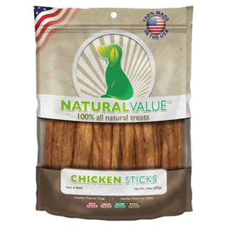 Natural Value Treats 14ozChicken Sticks
