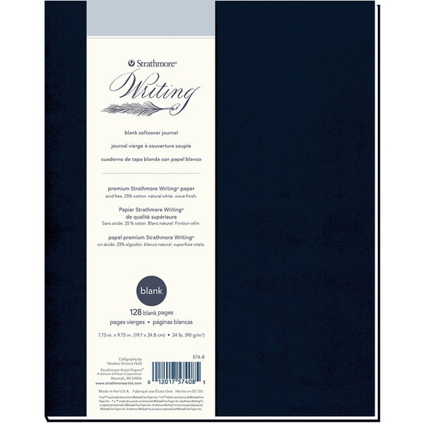 Strathmore Softcover Journal Blank 7.75inX9.75in64 Sheets