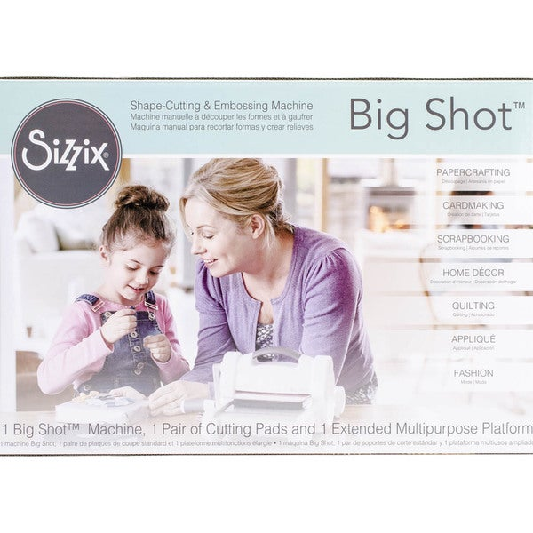 Sizzix Big Shot MachineGray & White