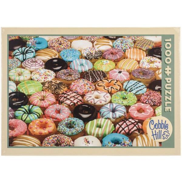 Jigsaw Puzzle 1000 Pieces 10inX14inDoughnuts