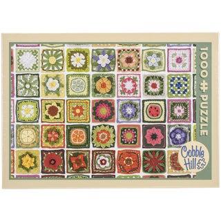 Jigsaw Puzzle 1000 Pieces 10inX14inGranny Squares