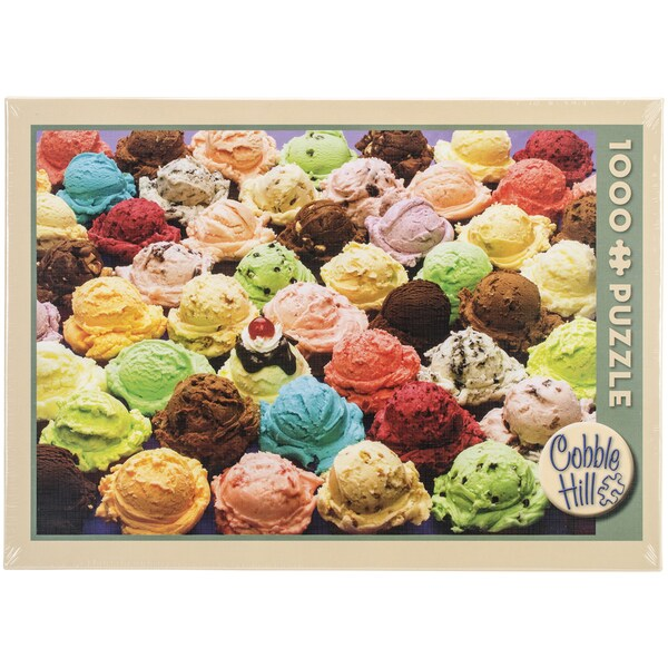 Jigsaw Puzzle 1000 Pieces 10inX14inIce Cream