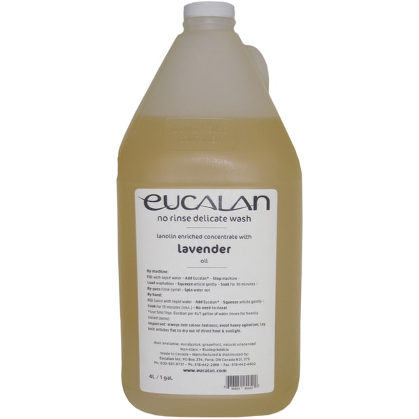 Eucalan Fine Fabric Wash 1galLavender