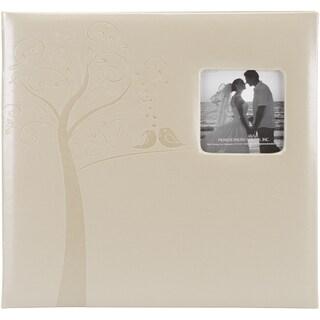 Embossed Wedding Post Bound Album 12inX12inTree