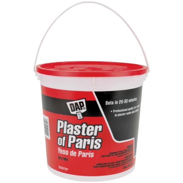 Plaster Of Paris 8lb TubWhite