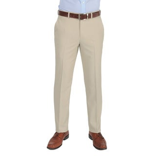 Dockers Men's Performance Variegated Herringbone Slim Fit Stone Pant