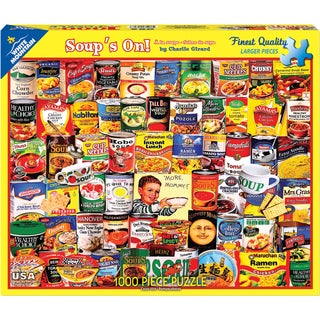 Jigsaw Puzzle 1000 Pieces 24inX30inSoups On