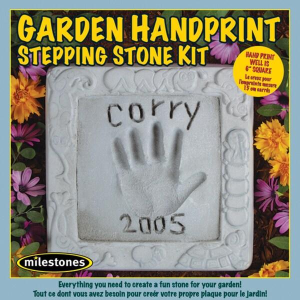 Mosaic Stepping Stone KitGarden Handprint
