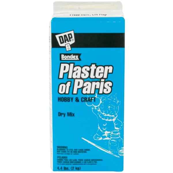 Plaster Of Paris 4.4lb BoxWhite