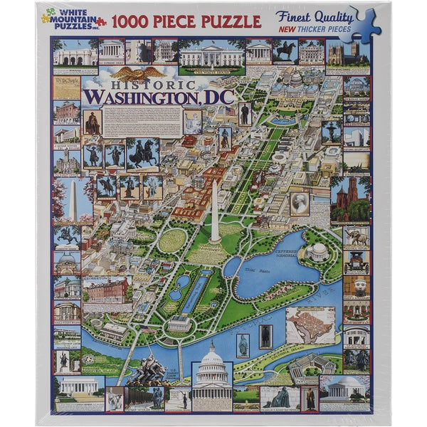 Jigsaw Puzzle 1000 Pieces 24inX30inWashington DC