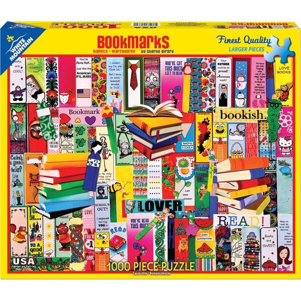 Jigsaw Puzzle 1000 Pieces 24inX30inBookmarks