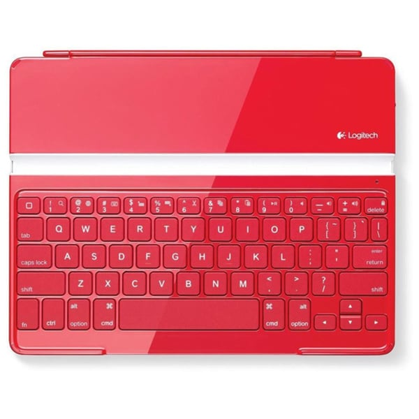 Logitech Ultrathin Red Keyboard Cover for iPad 2/ 3rd/ 4th Generation