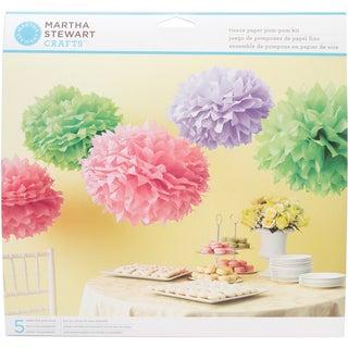 Tissue Paper PomPom Kit Makes 5Colorburst
