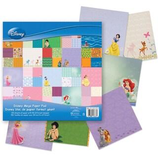 Disney Mega Paper Pad 12inX12in 150/Pkg