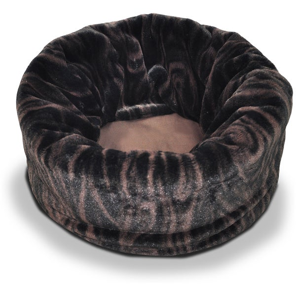 P.L.A.Y. Extra Large Snuggle Bed 25in Diam X 36inTruffle Brown