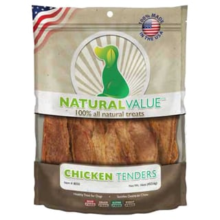Natural Value Treats 16ozChicken Tenders