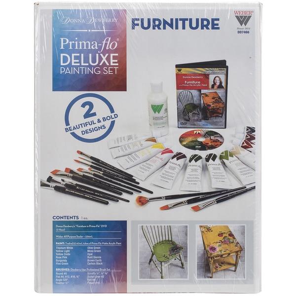 Donna Dewberry Deluxe Paint SetFurniture In Prima Flo