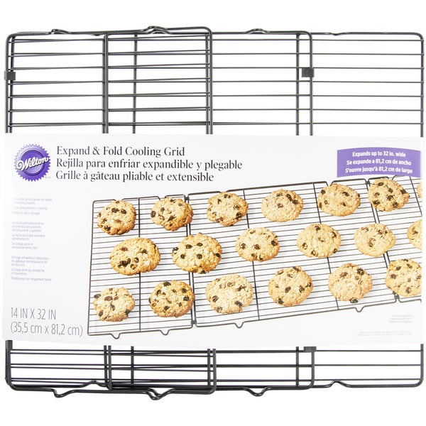 Expand & Fold Cooling Rack 14inX32in
