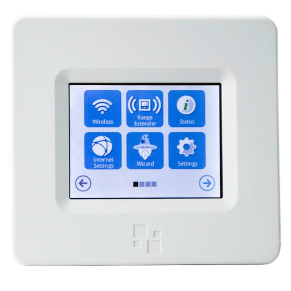 HomeScreen AC750 802.11ac Dual Band TouchScreen Wireless Router/ Range Extender