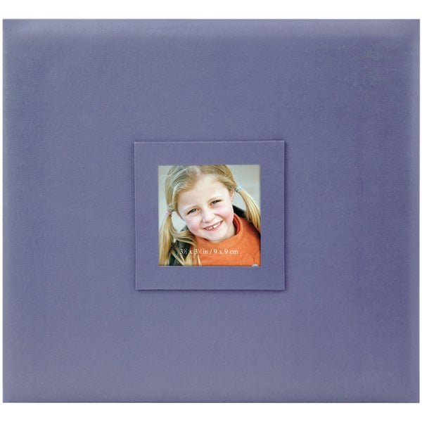 Post Bound Album 12inX12inAmethyst