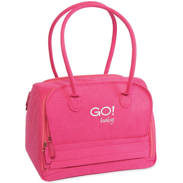 GO! Baby Fabric Cutter Tote9.75inX14inX8.75in Hot Pink