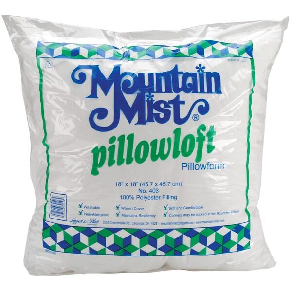Pillowloft Pillowform18inX18in FOB: MI