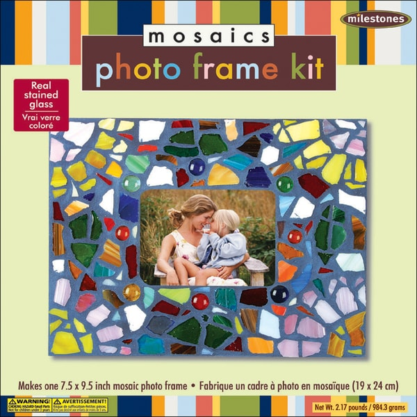 Mosaic Photo Frame Kit