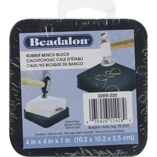 Rubber Bench Block 4inX4in