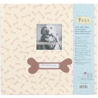 Pet Post Bound Album 12inX12inDog