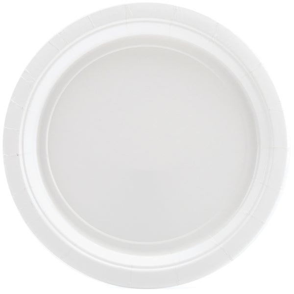 Big Party Pack Dinner Plates 9in 50/PkgWhite