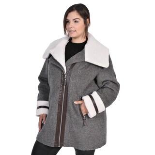 Nuage Morgan Wool Jacket ( Plus Size)