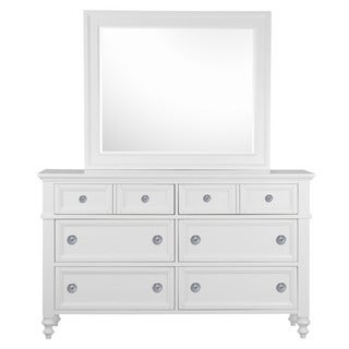 Magnussen B2819 Cape May White Finish Wood Drawer Dresser
